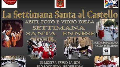 Photo of Mostra sulla settimana santa ennese
