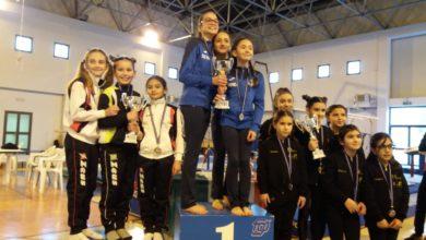 Photo of Oro per le ragazze della Consolini nel campionato regionale FGI serie D-LB3
