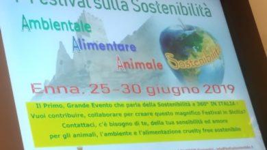 Photo of Ad Enna il 1° Festival sulla sostenibilità Ambientale, Alimentare, Animale Italiano