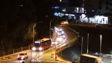 """Photo of Lavori notturni per sistemare la """"rotonda della discordia"""""""