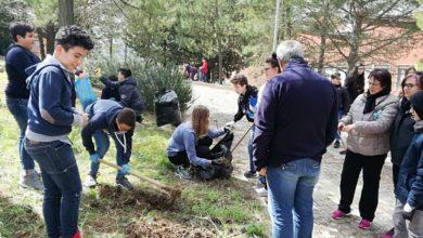 Photo of Gli studenti della Savarese ripuliscono il loro cortile