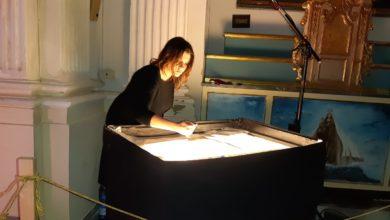 Photo of Stefania Bruno incanta con la sua arte al cuore di Gesù