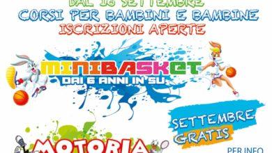 Photo of Consolini: Iniziano oggi le attività di Motoria e Minibasket