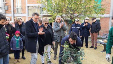 """Photo of Inaugurato questa mattina """"Il giardino dei frutti"""" in via della Resistenza. L'iniziativa rientra nel progetto """"Mille alberi a quota mille"""""""