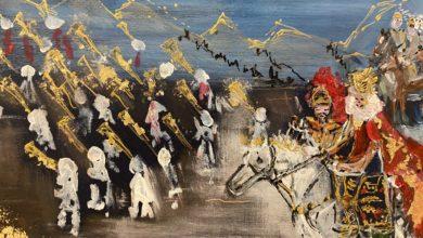 Photo of Oggi Finissage della mostra sui Paladini di Francia di Ornella Gullotta