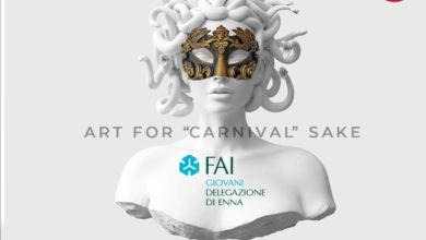 Photo of Festa in maschera del FAI Giovani per #salvarelitalia