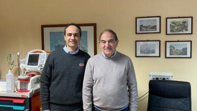 Photo of Il dr. Salvatore Maira all'Ospedale Chiello di Piazza Armerina
