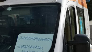 """Photo of L'appello degli autisti/ soccorritori del 118 ai politici. """"Iniziamo ad ammalarci anche noi. A morire anche noi""""."""