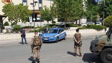 """Photo of Militari delle Forze Armate dell'""""Operazione Strade Sicure"""" impiegate nei servizi dei controlli COVID -19"""