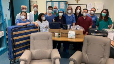 Photo of Il personale del reparto di Anestesia e Rianimazione ringrazia i ragazzi del Napoleone Colajanni che hanno devoluto i soldi raccolti per la matricola per acquistare apparecchiature mediche