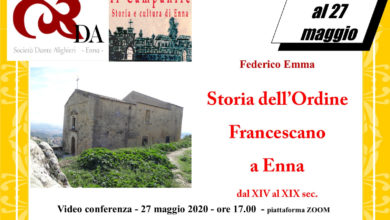 Photo of Rinviato al 27 maggio il terzo appuntamento della Dante Alighieri