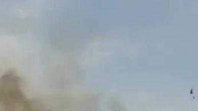 Photo of Sette ettari di terreno in fumo a Pergusa