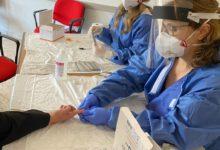 Photo of 127 test sierologici effettuati questa mattina nella sede della Protezione Civile. Tra questi un positivo a cui è stato fatto il tampone