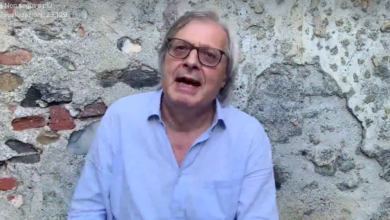 "Photo of Vittorio Sgarbi a Fabio Venezia: ""Ci vediamo in tribunale"" (VIDEO)"