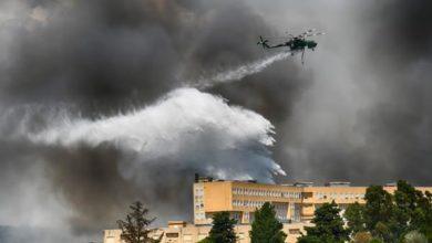Photo of Vasto incendio a Piazza Armerina. Evacuato anche un gruppo scout