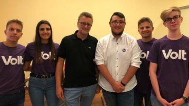 Photo of I giovani di Volt Enna a sostegno di Maurizio Dipietro