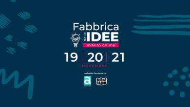 Photo of Al via domani l'evento online La Fabbrica delle Idee