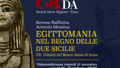 Photo of Enna-Egitto: venerdì la conferenza di Antonio Messina e Serena Raffiotta per la Dante