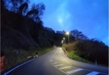 Photo of Si accendono le luci sulla Sp 2. Collaudato l'impianto di illuminazione