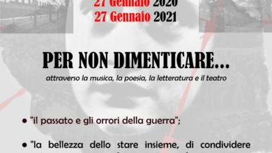 """Photo of """"Per non dimenticare"""" giornata della memoria"""