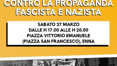 """Photo of I giovani democratici in piazza sabato per raccogliere le firme per la """"Proposta di legge popolare contro la propaganda fascista e nazista"""""""