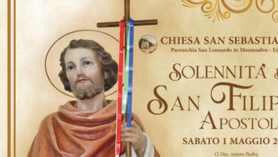 Photo of Enna: festa di San Filippo Apostolo sabato 1 maggio