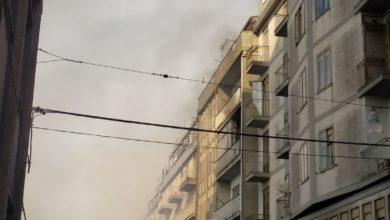 Photo of Enna di nuovo in fiamme. Brucia anche un balcone di palazzo in corso Sicilia