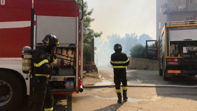 Photo of Vasto incendio nel capoluogo. Le fiamme minacciano le abitazioni