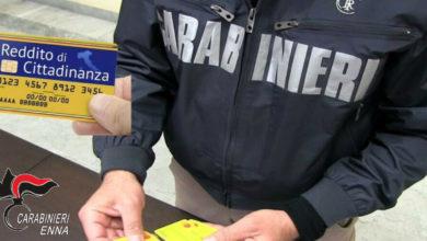 Photo of In provincia di Enna 15 persone percepivano indebitamente il Reddito di cittadinanza