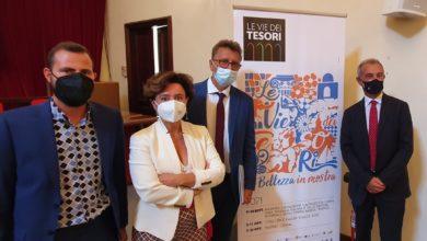 """Photo of Presentata questa mattina la manifestazione """"Le vie dei Tesori"""""""
